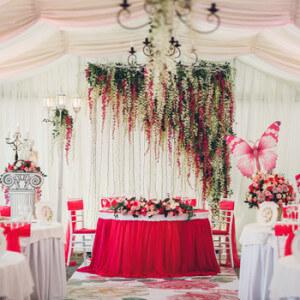 Оформление и декор на свадьбу в Краснодаре