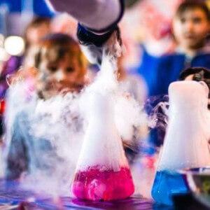 Научное шоу на детских праздниках в Краснодаре