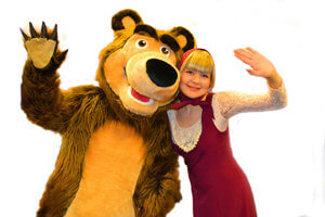 Аниматоры Маша и медведь в Краснодаре